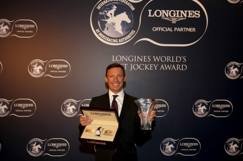 Frankie Dettori: Longines World's Best Jockey